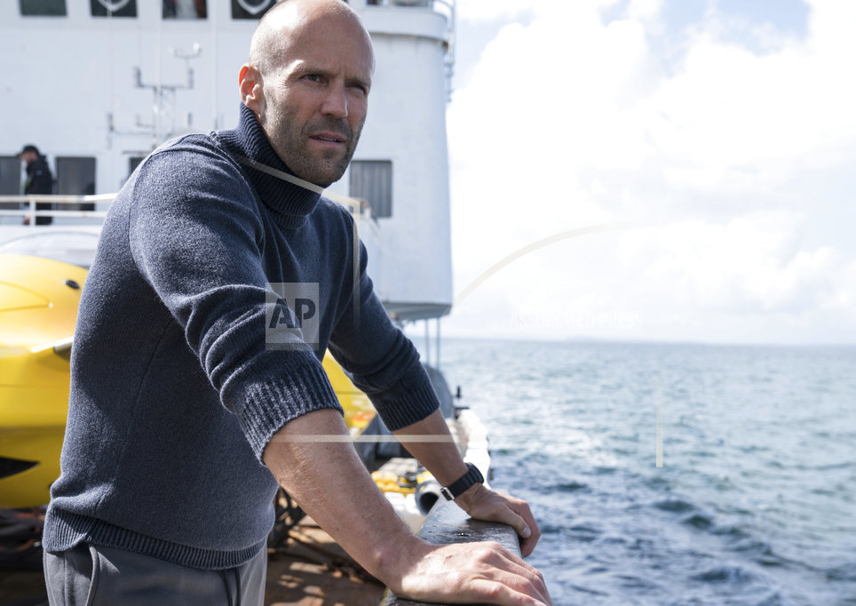 """Jason Statham appears in a scene from """"The Meg."""""""