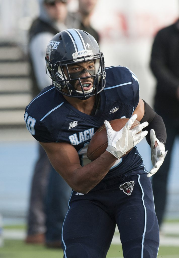 Injuries and suspensions have limited UMaine receiver Micah Wright, but he does have talent. Two years ago as a sophomore, he was a first-team all-conference receiver and second-team punt returner.