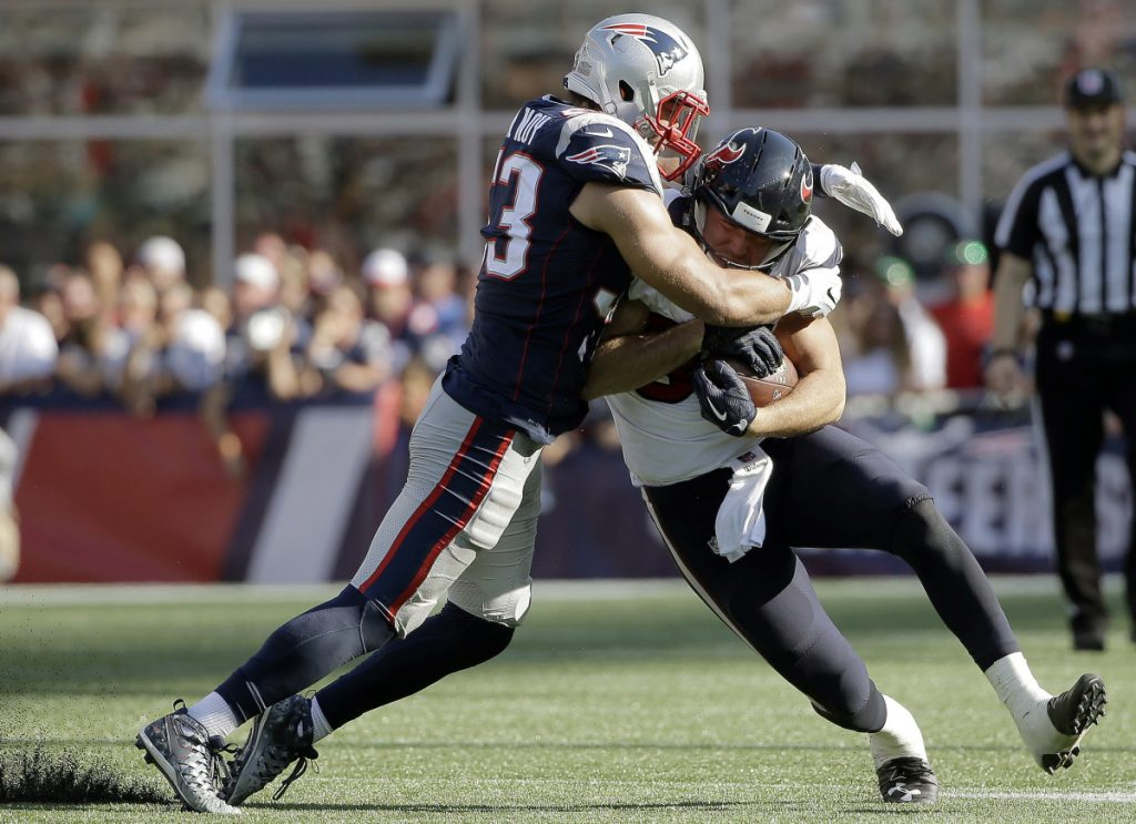 Linebacker Kyle Van Noy predicts that the Patriots defense will be much better this season, and there's certainly lots of room for improvement after a dreadful performance in the Super Bowl loss to the Eagles.