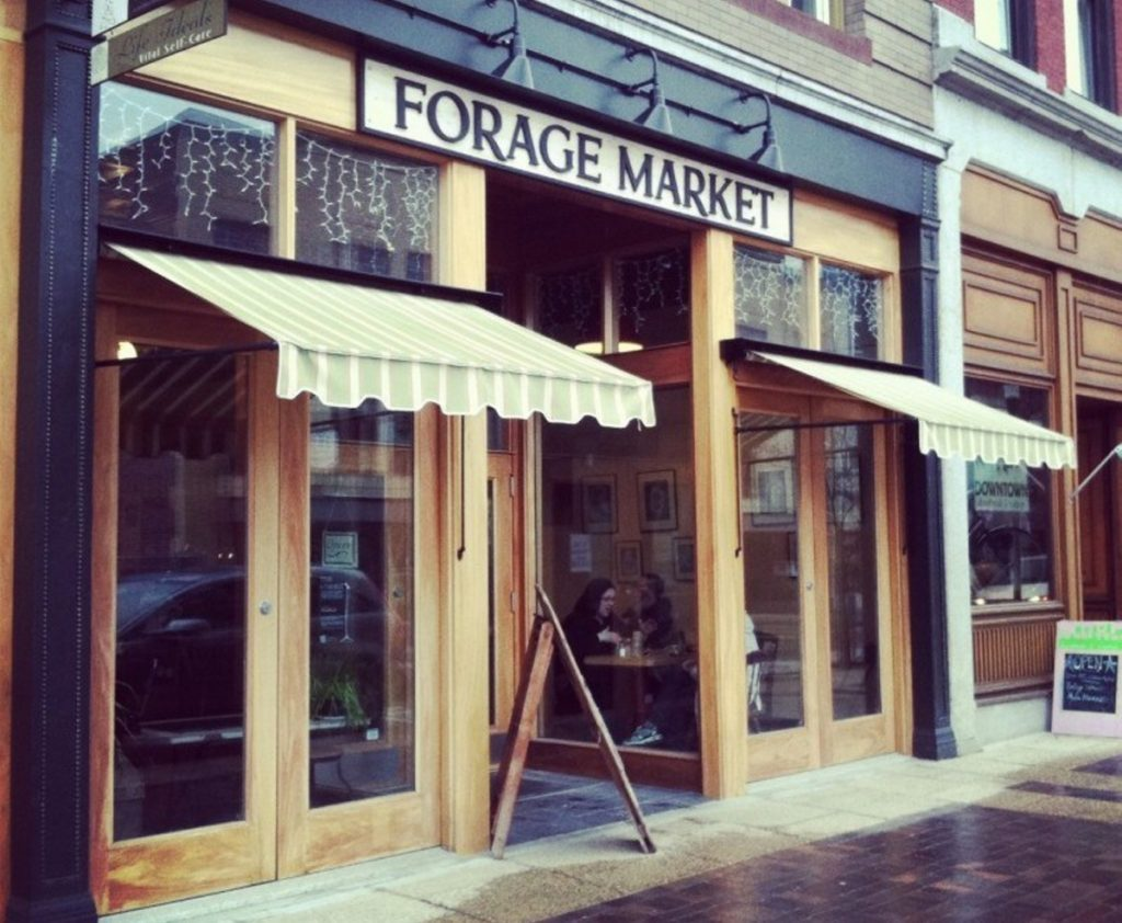 Forage Market in Lewiston. It's having a second soft opening on Washington Avenue in Portland this Thursday and Friday starting at 7 a.m.