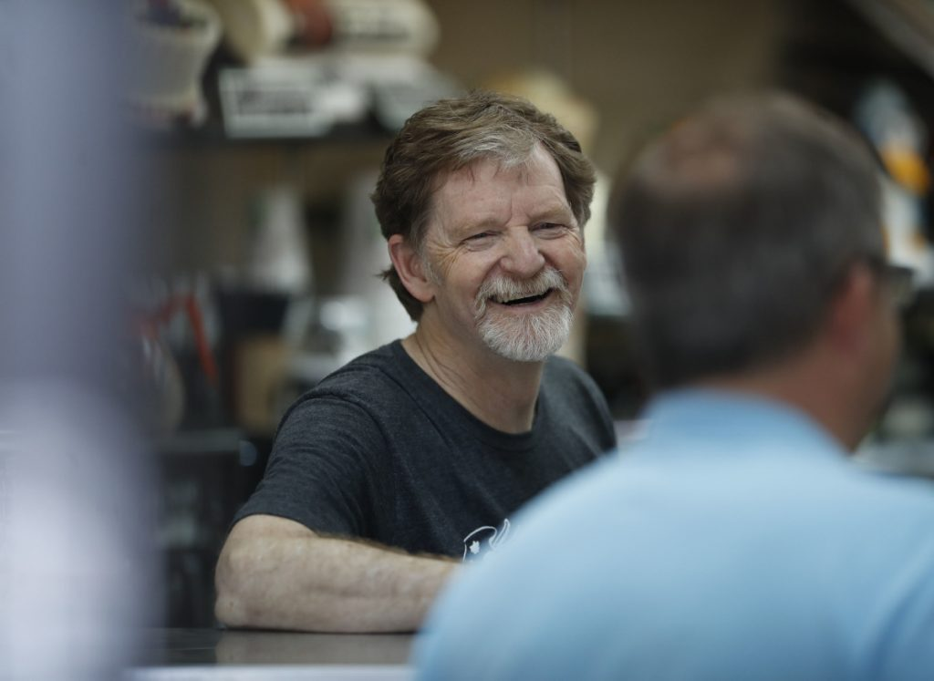 """Jack Phillips, owner of Masterpiece Cakeshop in Lakewood, Colo., alleges that the state is on a """"crusade to crush"""" his business because of his traditional religious convictions."""