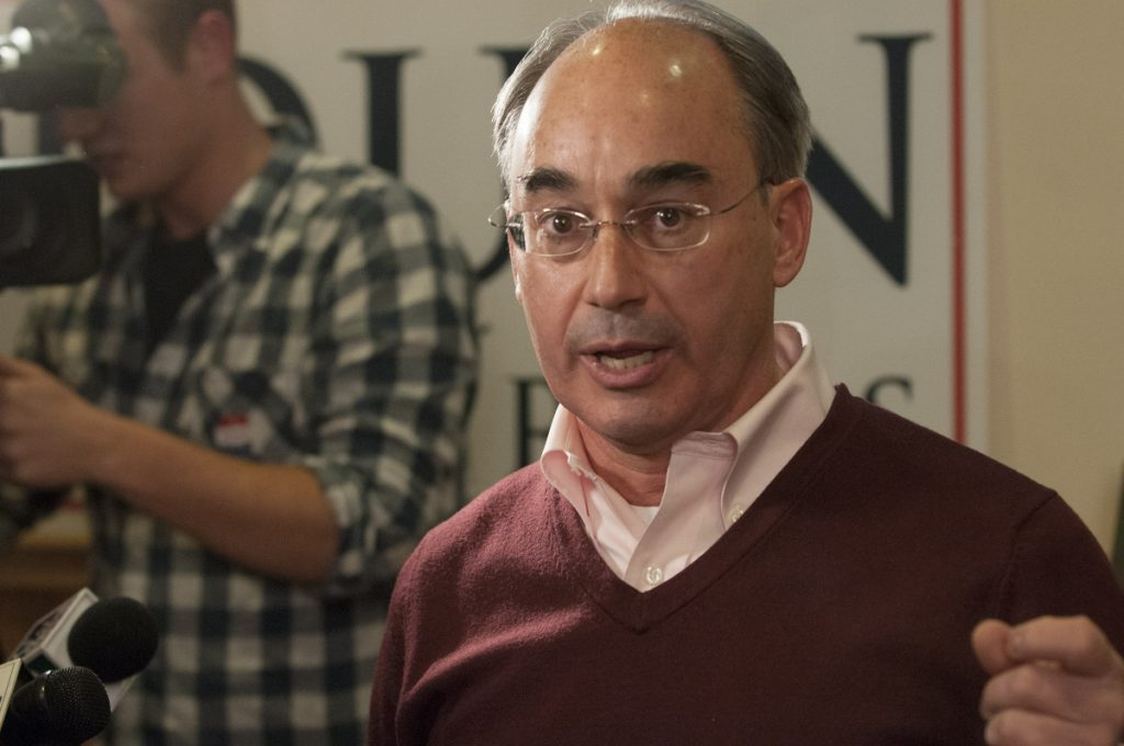 In the run-up to the 2016 election, Rep. Bruce Poliquin, R-2nd District, spent $150,000 on mass mailings to constituents – more than any other member of Congress – and it appears that he's following the same script this year.