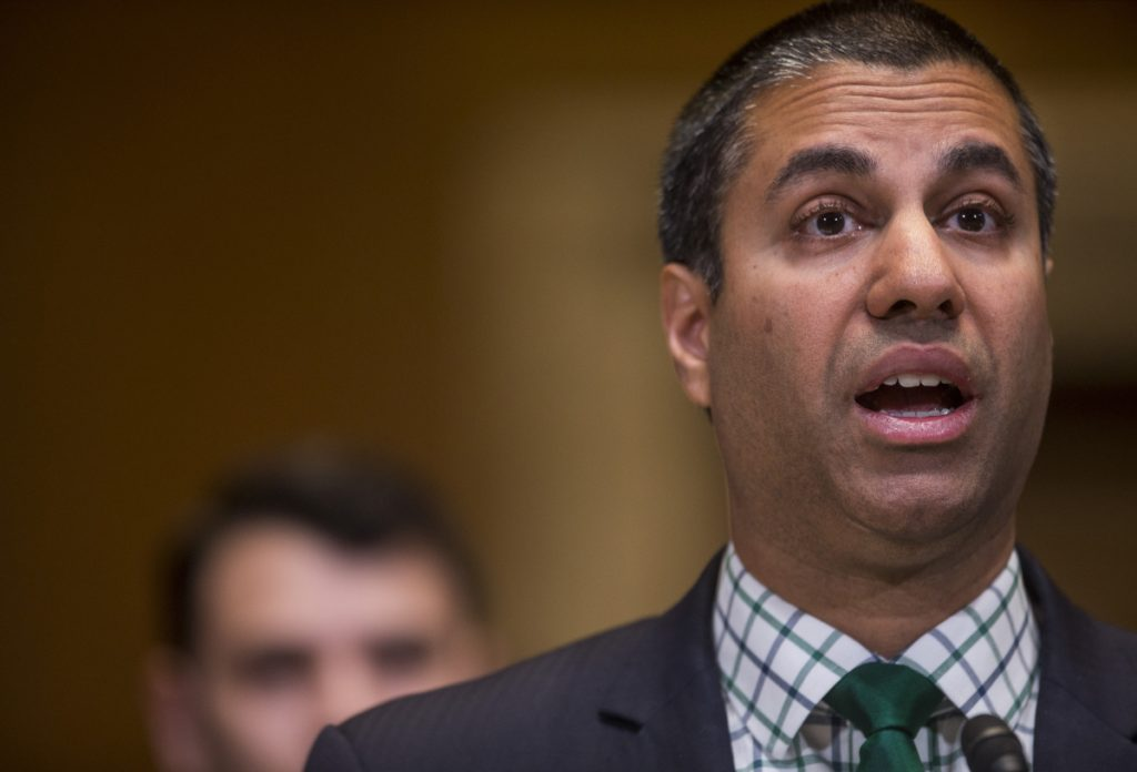"The conservative research group Maine Heritage Policy Center says FCC chief Ajit Pai is ""informed by a few simple principles, competition paramount among them."""