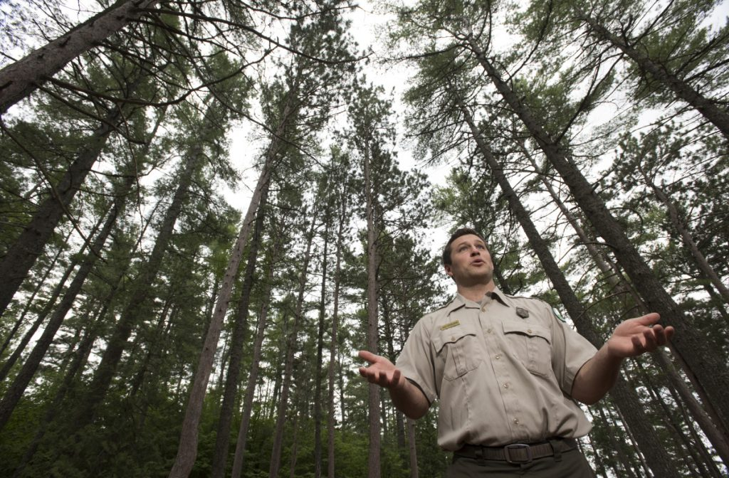 Baxter State Park's new director, Eben Sypitkowski, takes the job as the park's escalating popularity poses a threat to what makes it so special, including its primitive facilities and disconnection from the digital world.