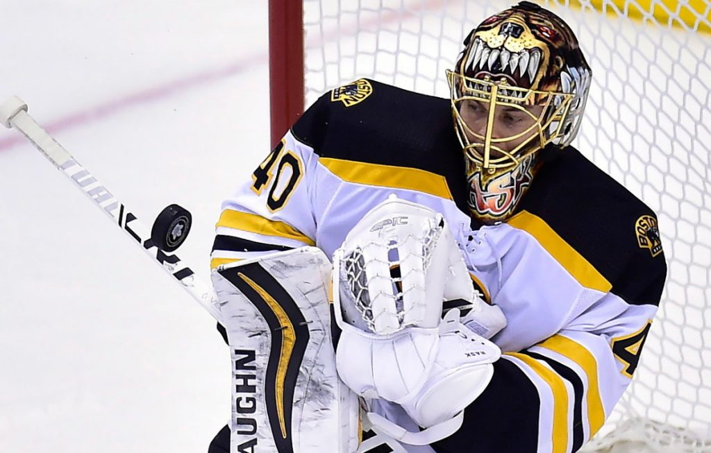 Bruins goaltender Tuukka Rask was benched in favor of backup Anton Khudobin following some early struggles last season, then posted a 19-0-2 run in his return to the starting role. Rask will be pushed for playing time again, with veteran Jaroslav Halak as his new backup.