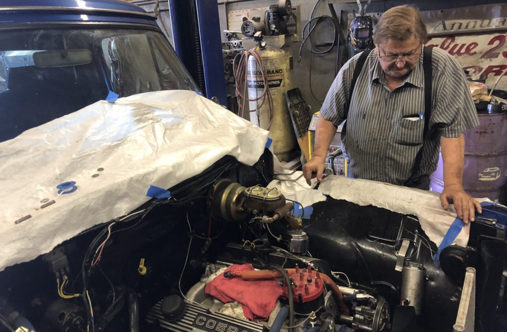 It's 20 years since Ralph Nason of Unity began his three-year reign at the Oxford 250. Now, at 78, he spends time in his Unity garage working on restoration projects, including a 1955 Ford F-100 pickup truck.