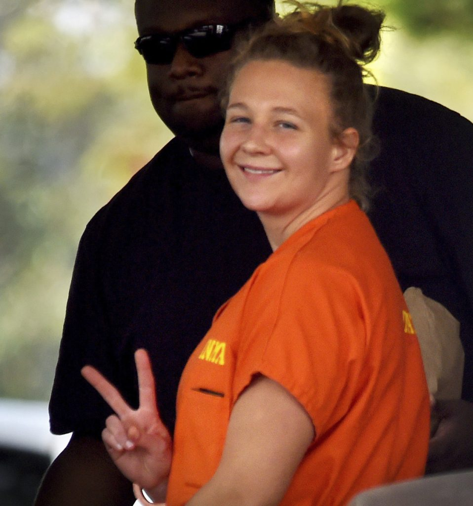 Reality Winner pleaded guilty to mailing a classified U.S. report to a news organization.