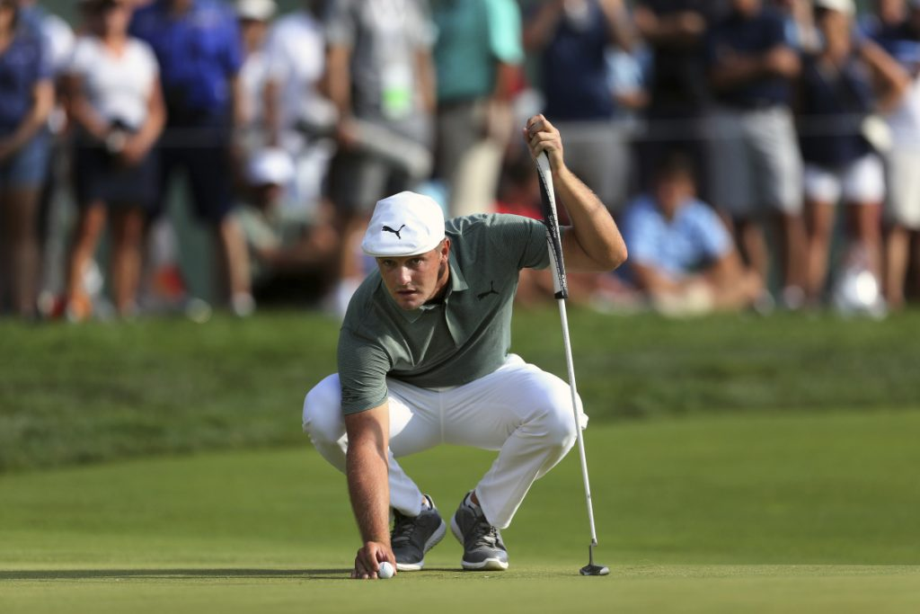 DeChambeau surges into Northern Trust lead