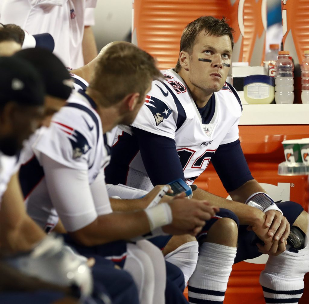 The Patriots still don't have an obvious succession plan after Tom Brady retires, leading to speculation that the team may be interested in trading for a quarterback.