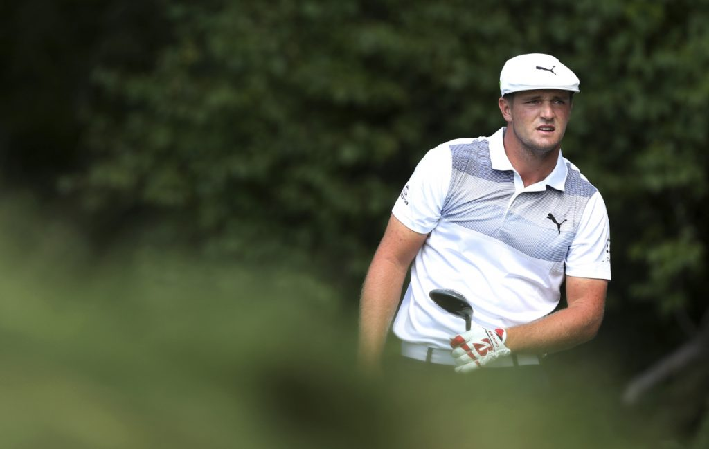 Bryson DeChambeau bolstered his case for a spot on the U.S. Ryder Cup team, winning the first event of the FedEx Cup playoffs by four shots.
