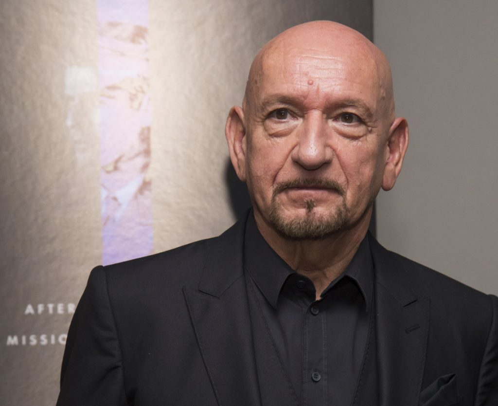 "Long cast in heroic roles, Ben Kingsley portrays notorious Nazi war criminal Adolf Eichmann in ""Operation Finale."""