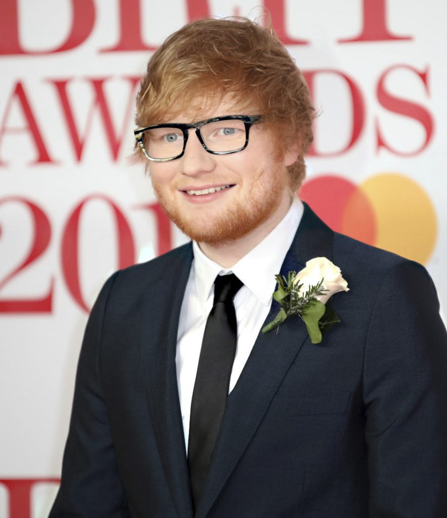 "British singer Ed Sheeran says, ""I was playing myself, so I don't think I was that bad. There wasn't much to (mess) up."""