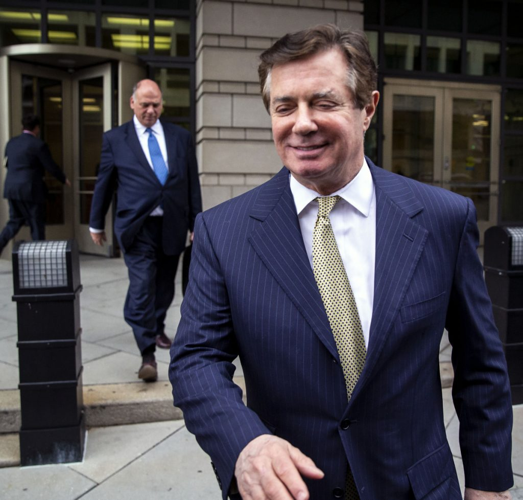 Donald Trump's former campaign chairman Paul Manafort wants to relocate his trial to Roanoke, Va.