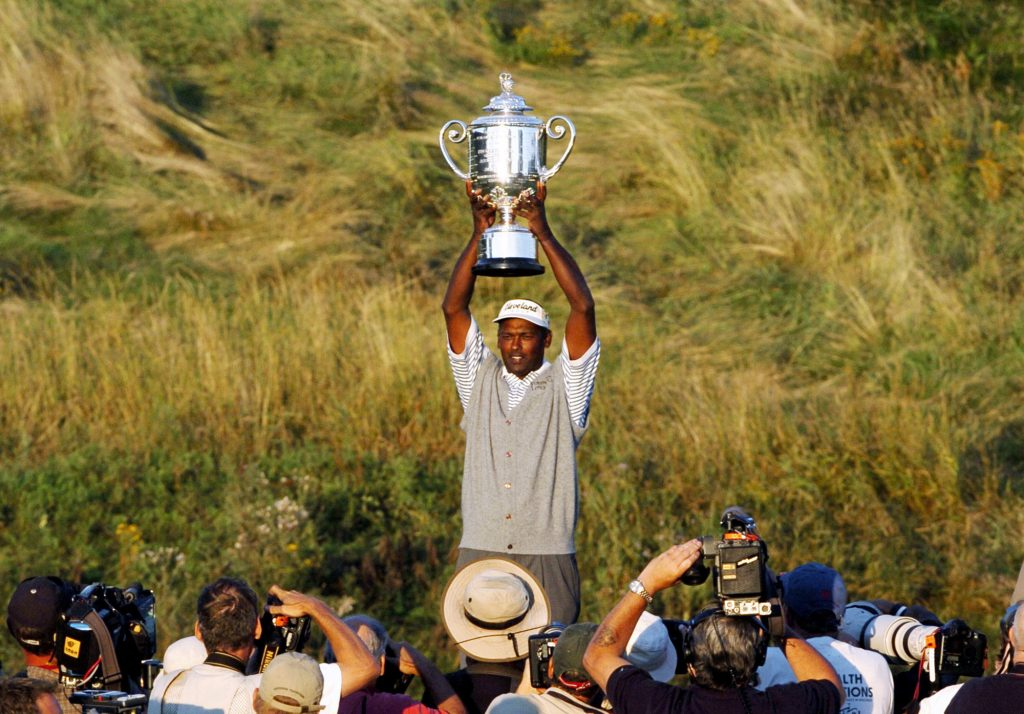 Vijay Singh won the PGA Championship when he was 41 years old in 2004. Payne Stewart is the only other player to win a major on U.S. soil after turning 40 years old in the last 80 majors.