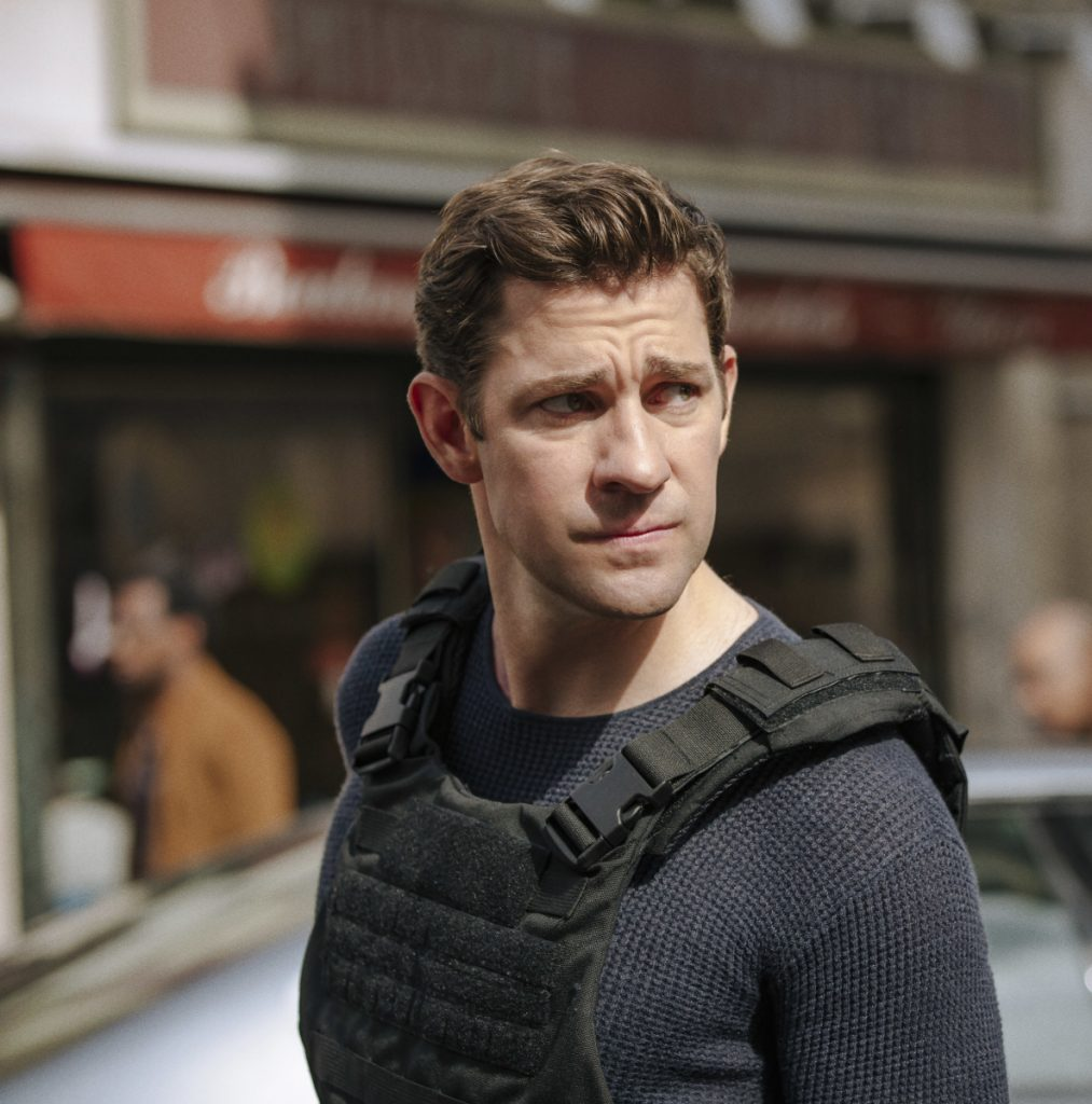 "John Krasinski in the title role in ""Tom Clancy's Jack Ryan."""