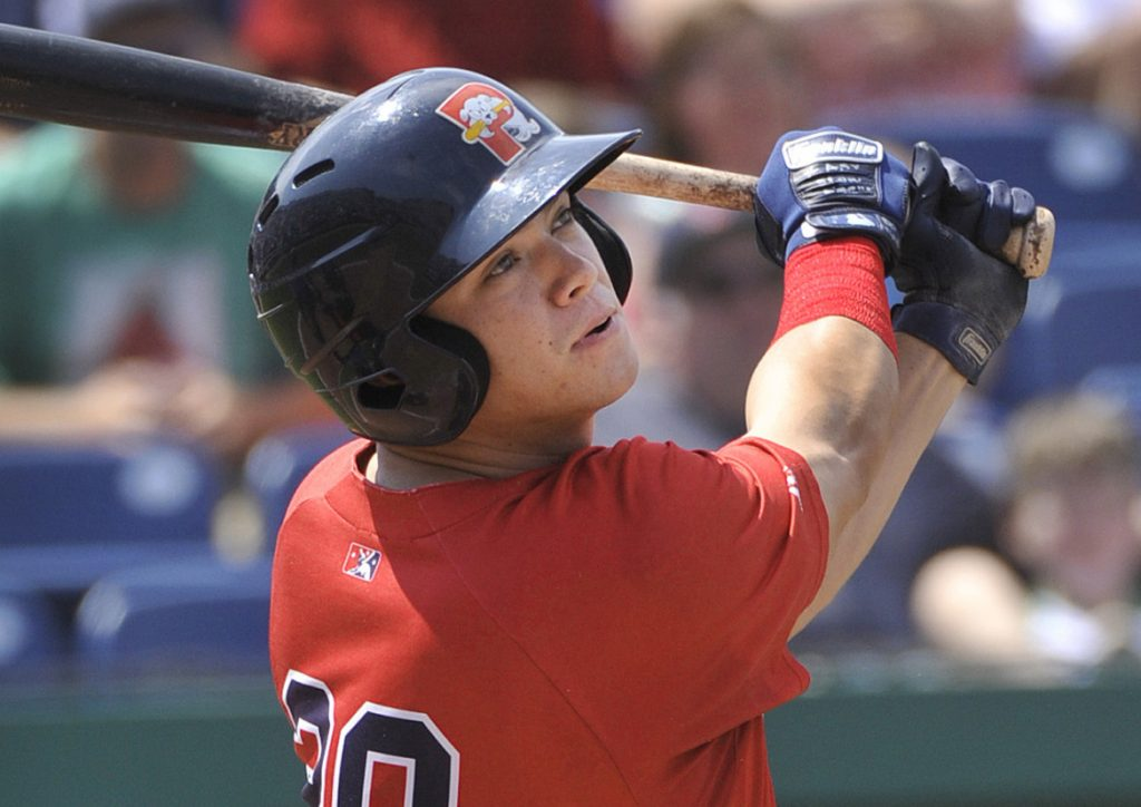 Bobby Dalbec quickly showed his power after being promoted from Class A Salem in early August, hitting two home runs in his third game for the Sea Dogs.
