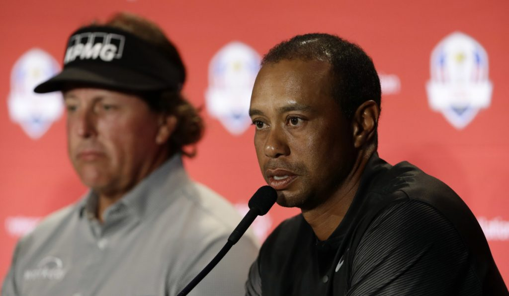 Woods named in US Ryder Cup team