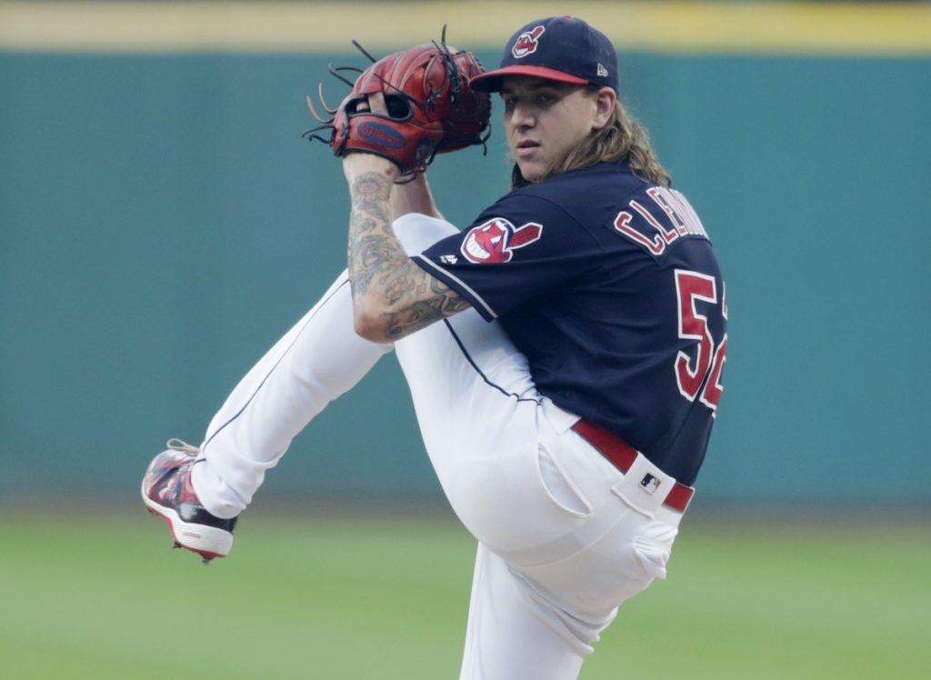 Cleveland starter Mike Clevinger struck out 10 on Tuesday night as the Indians topped the Royals 9-3 to break a three-game losing streak.