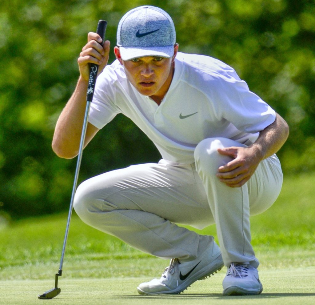 Cole Anderson of Camden Hills is headed to Florida State on a golf scholarship and plans to enroll in January. In the meantime, he'll seek a fourth straight Class A state championship.
