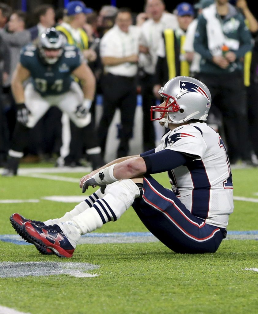 Tom Brady threw for 505 yards and three TDs, and still lost 41-33 to Philadelphia in the Super Bowl. Brady is back at age 41 and despite significant changes, has a team that can make another Super Bowl run.