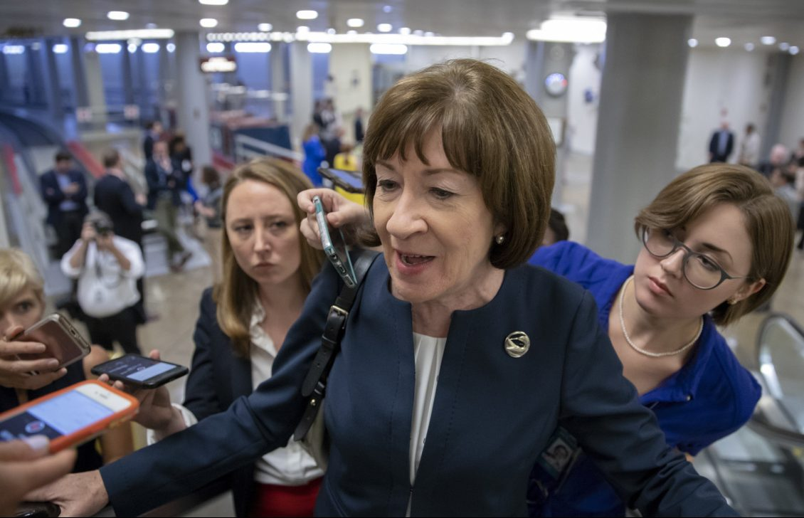 Crowdfunding campaign tied to Collins' vote on Kavanaugh surpasses $1 million