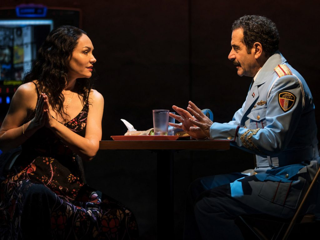 "Katrina Lenk and Tony Shalhoub are among stars from ""The Band's Visit"" who will perform scenes from plays by John Cariani to benefit Wintergreen Arts Center in Presque Isle."