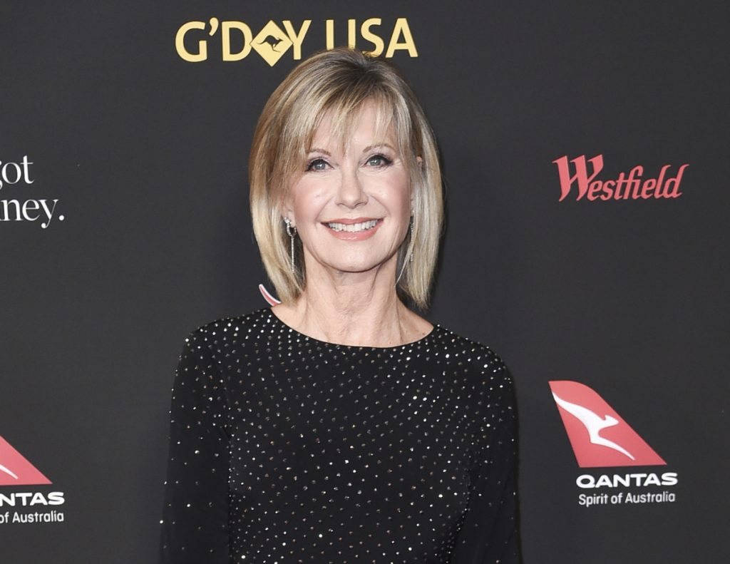 Olivia Newton-John says she has been diagnosed with cancer for the third time in three decades. She said doctors found a tumor in her lower back in 2017.