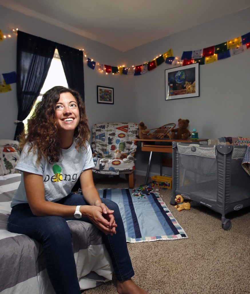 "Stefanie Millette, who keeps this room for younger children when she provides respite care, says, ""Our foster care system focuses on a child's past and present and not enough on their future."""