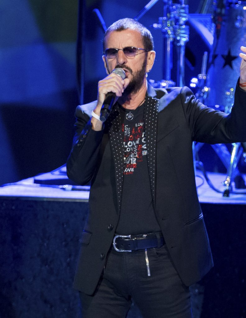 Former Beatle Ringo Starr headlined a two-hour show at Radio City Music Hall on Thursday night.