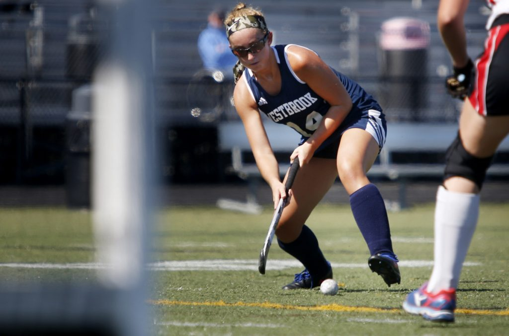Mary Keef of Westbrook worked a give-and-go with Avery Tucker and scored with 3:23 left in the second overtime, lifting Westbrook to a 2-1 win over Scarborough on Saturday.