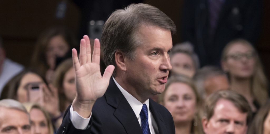 President Trump's Supreme Court nominee Brett Kavanaugh swore to tell the whole truth before the Senate Judiciary Committee.