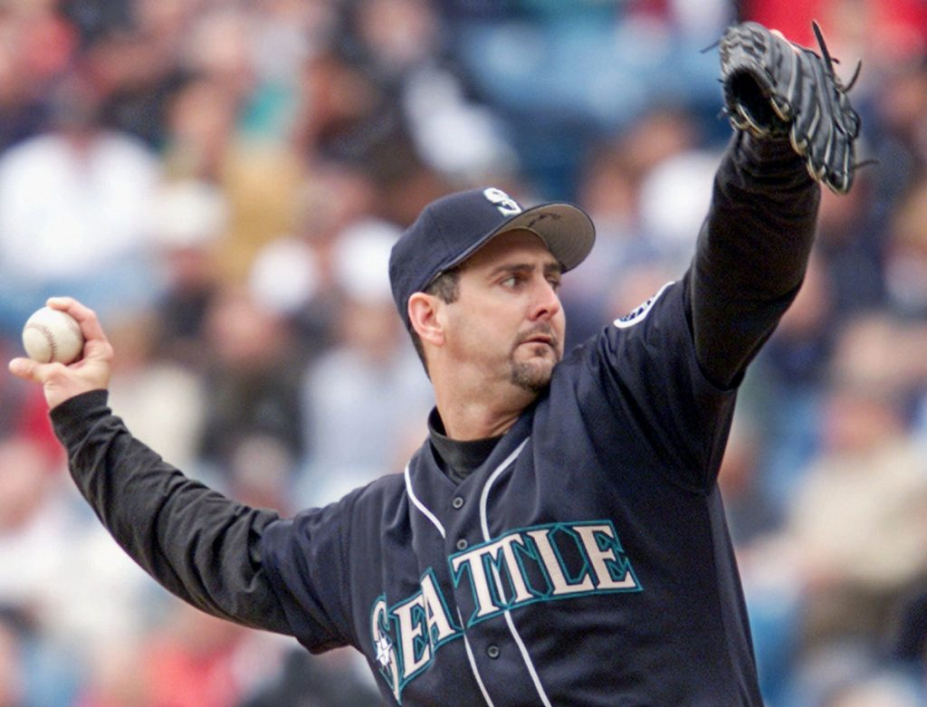 Paul Abbott, now the pitching coach for the Portland Sea Dogs, went 17-4 for the Seattle Mariners in 2001 despite not pitching in April. The team won 116 games, then lost to the Yankees in the playoffs. The Red Sox have 105 wins through Friday.