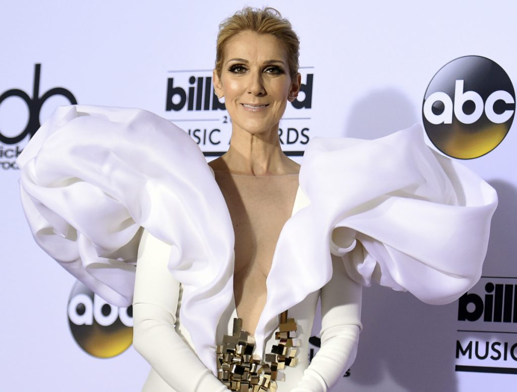 Celine Dion has announced she will end her Las Vegas residency next year. The singer confirmed on social media Monday that she will leave Caesars Palace in June 2019. (Photo by Richard Shotwell/Invision/AP, File)