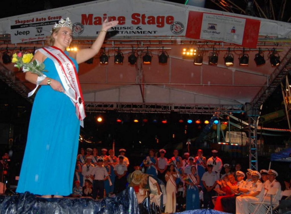 Taylor Hamlin was ousted as Sea Goddess at this year's Maine Lobster Festival because of photos posted on social media, including one that appeared to show her holding a marijuana cigarette.