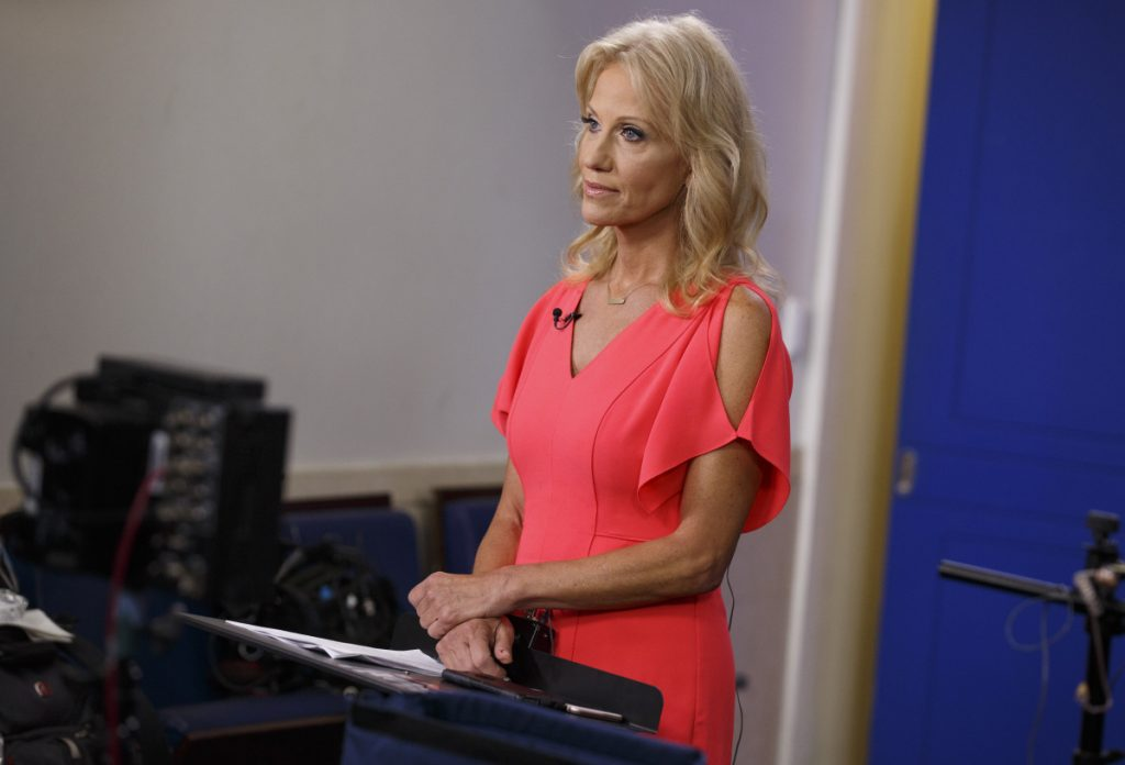 "Kellyanne Conway, senior adviser to President Trump, said during an interview Sunday on the ""State of the Union"" program on CNN that ""I'm a victim of sexual assault."""