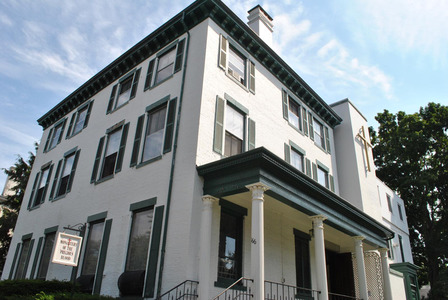 The Sisters Adorers of the Precious Blood have lived in a monastery on State Street near Longfellow Square since 1934.