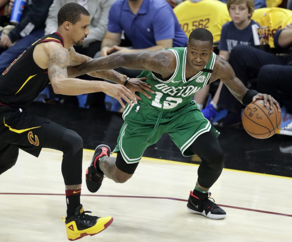 "Terry Rozier became a starter late last season for the Celtics when Kyrie Irving was injured, but now he's back to being a bench player, where he enters to try to ""change the game."""