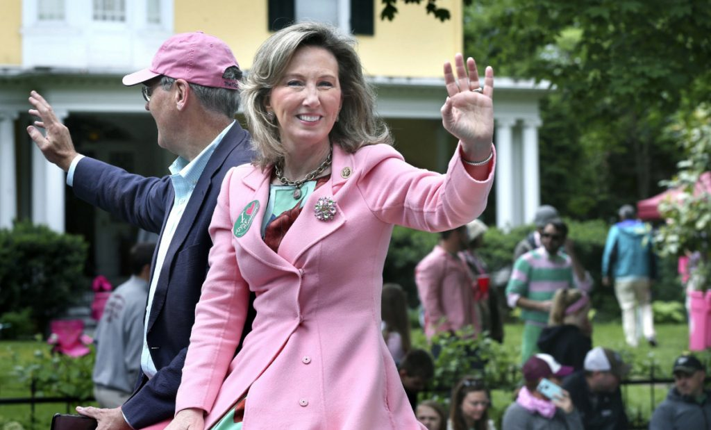 U.S. Rep. Barbara Comstock, R-Virginia, shown in 2017, had pushed Trump to reverse his initial decision in August to deny a pay raise to federal workers.