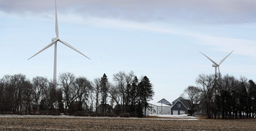 A Harvard University study proposes that U.S. wind turbines will cause more short-term warming this century than carbon dioxide from fossil fuels. But it says wind remains the better long-term option.