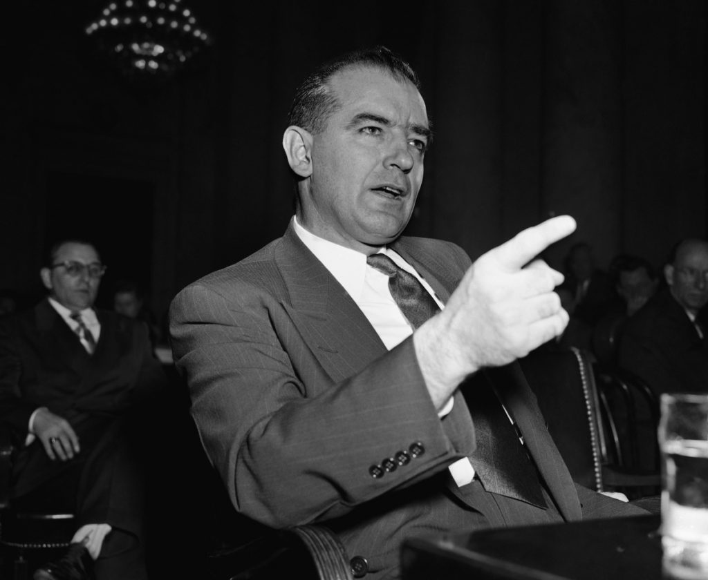 Sen. Joseph McCarthy's tactics don't apply to the Kavanaugh fiasco, but McCarthyism is still a danger, a reader writes.