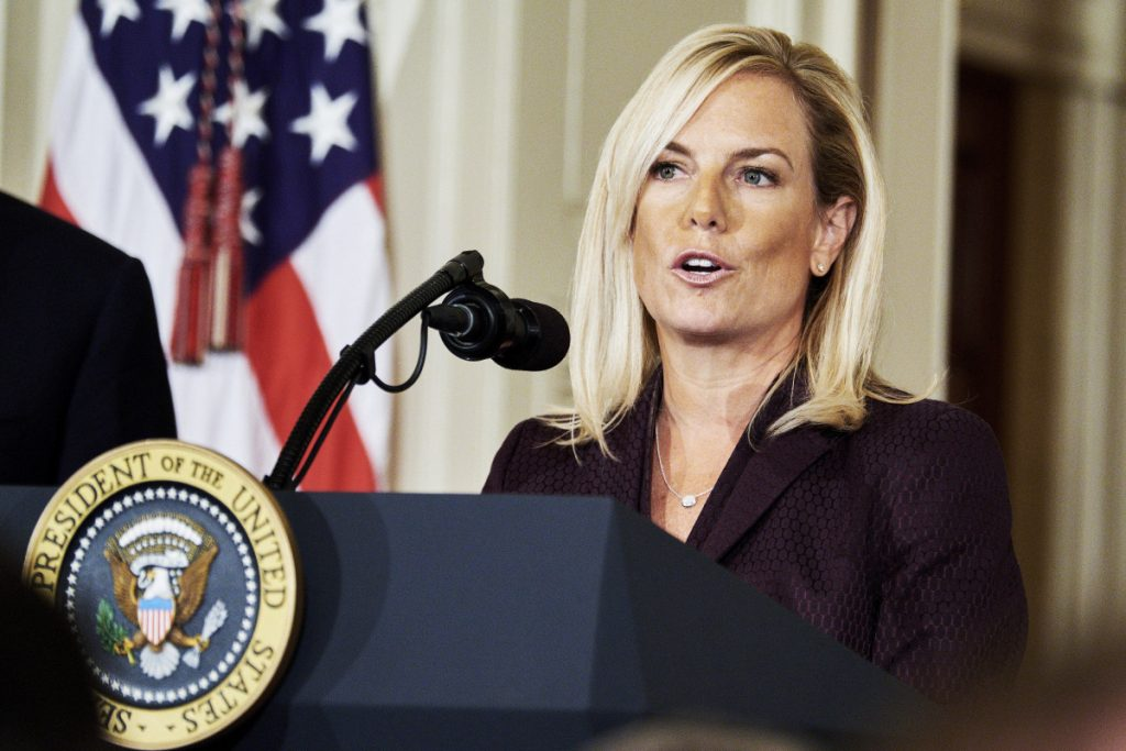 Homeland Security Secretary Kirstjen Nielsen is likely to face questions Wednesday on immigration.