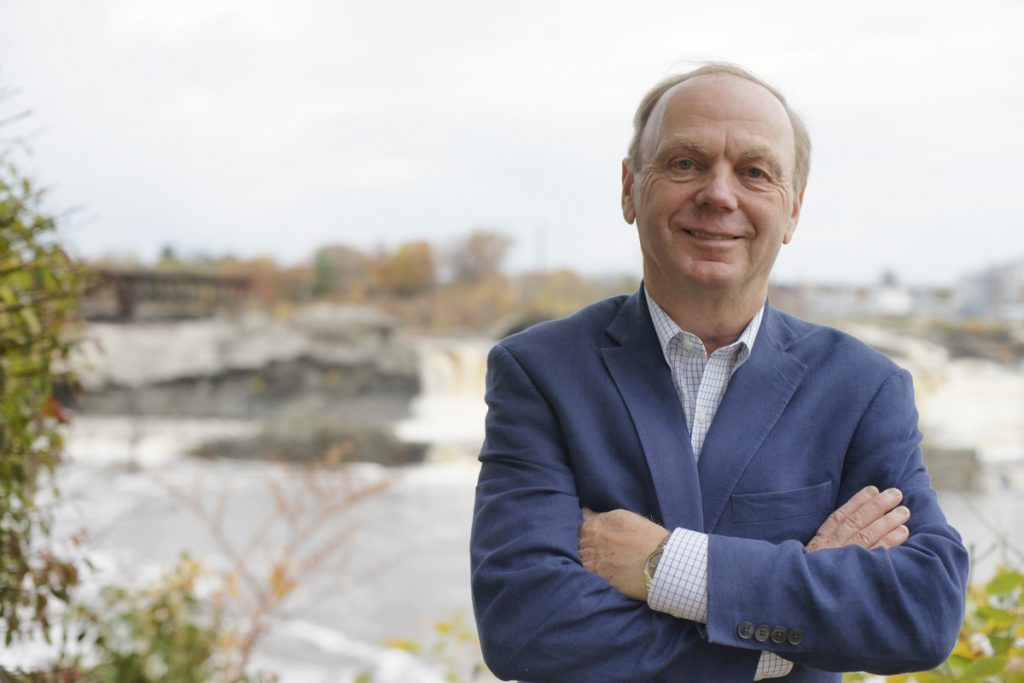 candidate for maine governor alan caron releases economic plan
