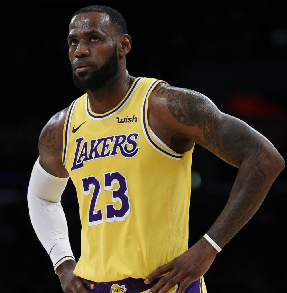 LeBron James has reached eight straight NBA finals, but that's in jeopardy now that he's with the Lakers and in the West with the Warriors.