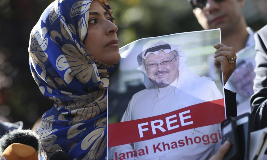 Congress should sanction the Saudi government if Saudi officials don't immediately explain what happened to Jamal Khashoggi on Oct. 2 and punish those responsible.