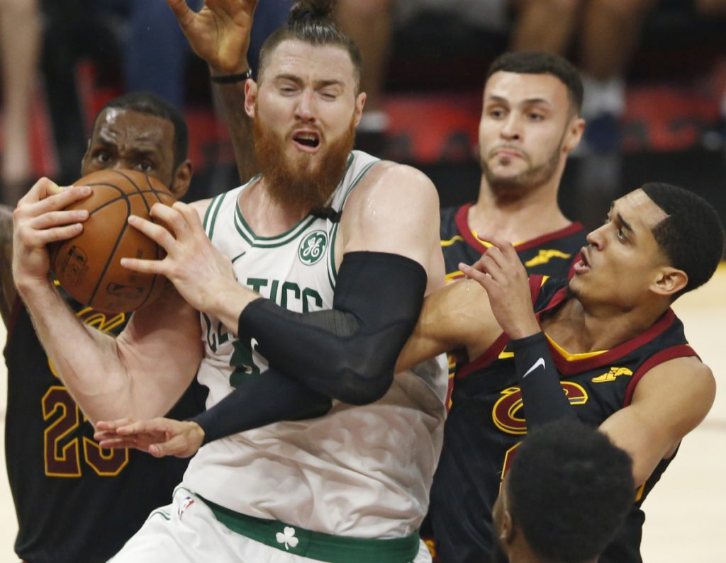 Aron Baynes can provide strength in the middle and relieve pressure for some of the Boston Celtics' bigger names, as the Cleveland Cavaliers discovered in last season's playoffs and the Philadelphia 76ers found out again in this year's season opener.
