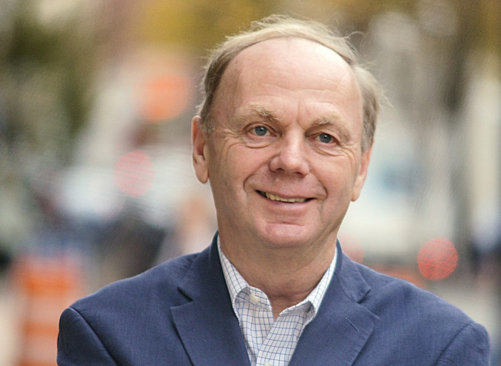 Alan Caron, independent candidate for governor