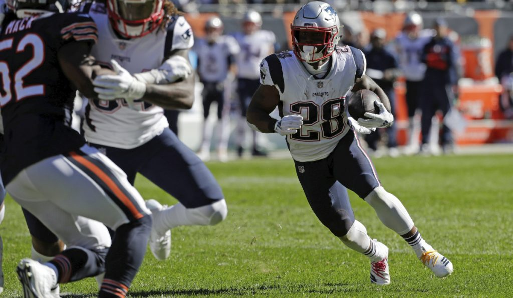 With injuries to Jeremy Hill, Rex Burkhead and Sony Michel, James White is the man entrusted to take care of what's left of the New England Patriots' running game. But the team has faith in him.