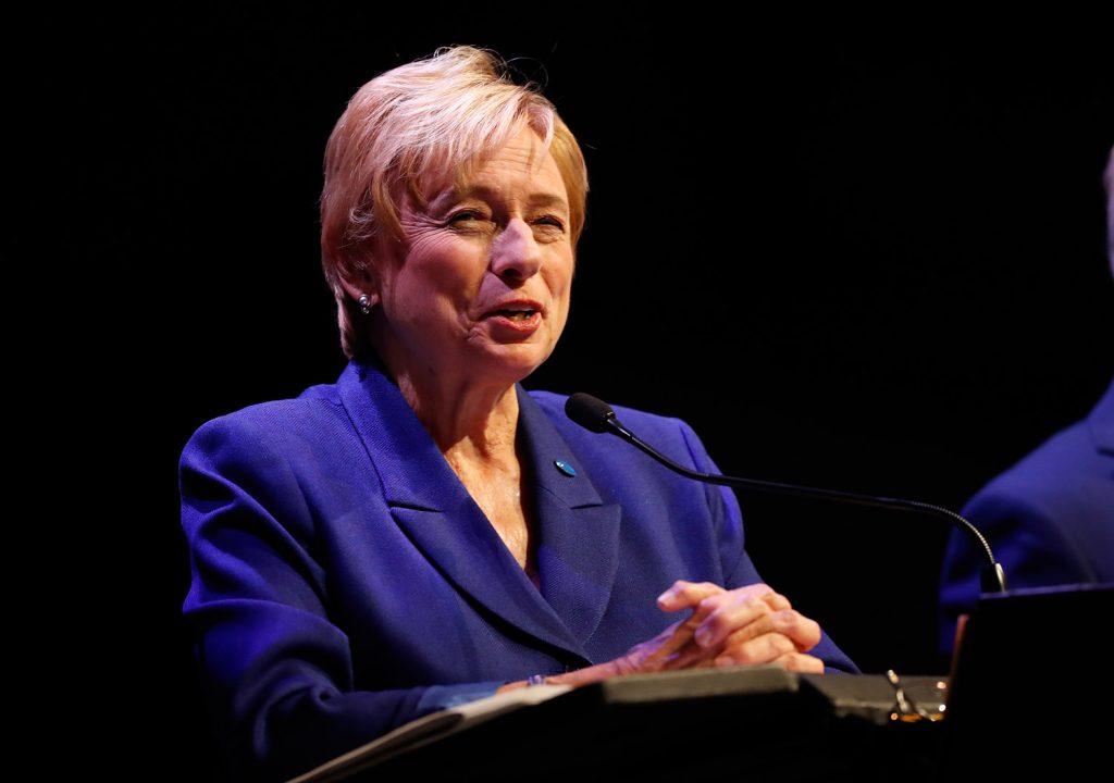 Democratic gubernatorial candidate Janet Mills raised more than $900,000 in a three-week period this month.
