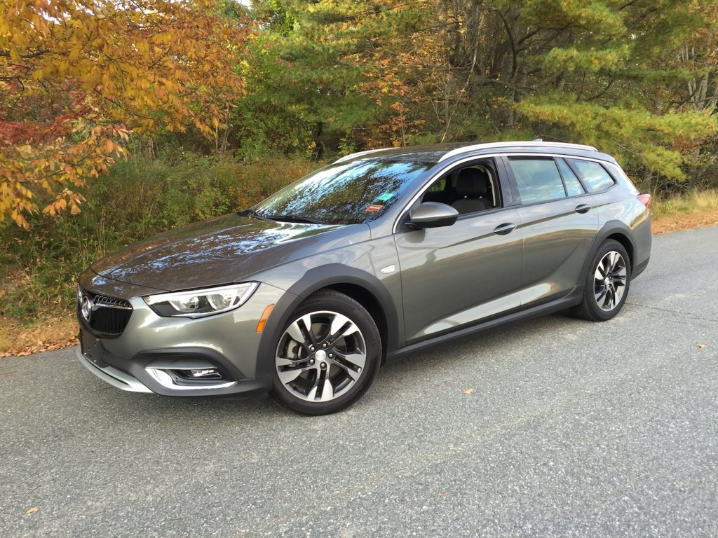 The Buick Regal TourX wagon – assembled in Germany with a transmission from Japan and an American-made engine.