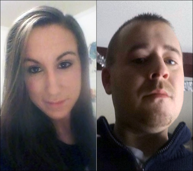 Bonnie Royer, left and Eric Williams, both of Augusta, were killed on Christmas Day 2015 in Manchester. David W. Marble Jr. has been found guilty of their murders.